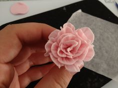 Small ruffle rose