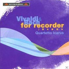Prezzi e Sconti: #Vivaldi and bach per flauto diritto  ad Euro 19.99 in #Dynamic #Media musica classica