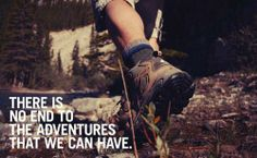 I would describe the future as an Adventure. Not settling, not the end of the road, just a new adventure. Adventure Quotes, Life Is An Adventure, Adventure Is Out There, Adventure Time, Hiking Quotes, Travel Quotes, Camping, Backpacking, Favorite Quotes