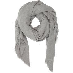 Destin Fluffy Oversize Scarf ($510) ❤ liked on Polyvore featuring accessories, scarves, colorless, fringe scarves, woven scarves, destin, fringed shawls and oversized scarves