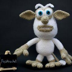 """23 Likes, 2 Comments - Freaky Crochet (@freakrochet) on Instagram: """"Conocéis a Booba? Es un simpático personaje de una serie animada de YouTube. Patrón de…"""""""
