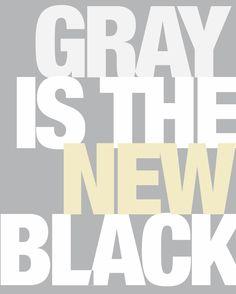 I <3 grey too
