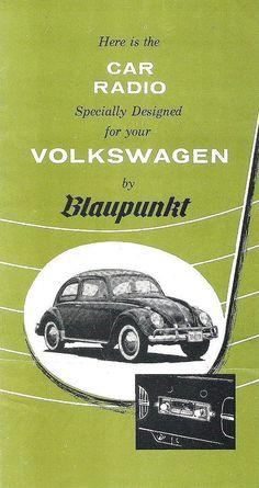 BLAUPUNKT brochure Canada 1958