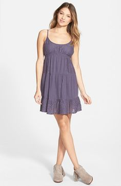 Rip Curl 'Dreamweave' Babydoll Dress available at #Nordstrom