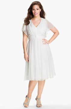 #Ivy & Blu                #Dresses                  #Flutter #Sleeve #Dress #(Plus) #White              Ivy & Blu Flutter Sleeve Dress (Plus) White 22W                               http://www.snaproduct.com/product.aspx?PID=5384626