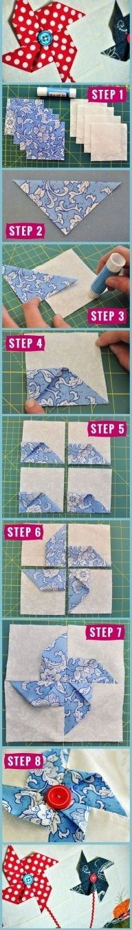 How to: Make a 3D pinwheel.