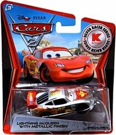 Disney / Pixar CARS 2 Movie Exclusive 155 Die Cast Car SILVER RACER Lightning McQueen by Mattel. $5.00. Exclusive Cars vehicles with metallic paint job are coming your way!!!
