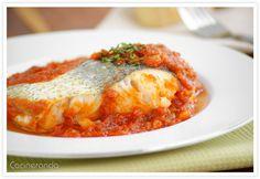 Cocinerando | Recetas de Cocina con Fotos: Merluza Mediterránea
