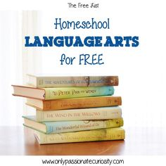 Are you looking for ways to save in your Homeschool budget? Homeschool language arts for free with these resources!