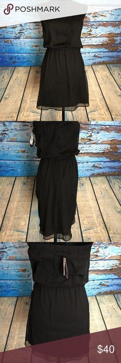 NWT Black Express strapless dress New with tags Express XS Black strapless dress Express Dresses Strapless