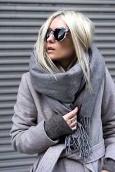Winter Inspiration: All-Grey Everything | Le Fashion | Bloglovin'