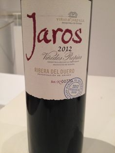 2012 Vinas del Jaro Jaros, 13.5% - Tempranillo, Cabernet, Merlot Dark ruby with a purple rim. Intense on the nose with dark cherry, licorice, vanilla, and menthol notes. Dry, soft, balanced, persistent with a full body. Ready now; can age. Jammy plums and other dark fruits on the palate. BP: Buy