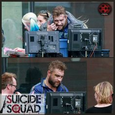 And check out Jail Courtney as Captain Boomerang on the set of SUICIDE SQUAD!!! #JaiCourtney #willsmith #deadshot #CaptainBoomerang #SuicideSquad #joker #harleyquinn #MargotRobbie #jaredleto #closeup #thejoker #behindthescenes #comic #dcuniverse #dccomics #dc #dccu #comicbook #movienews #movie #film #cinema #cinephile #geek #nerd #awesome #updatesincinema