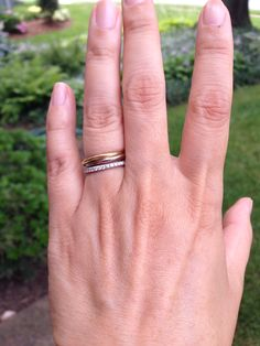 My Cartier Trinity Cartier Ring and Weddings