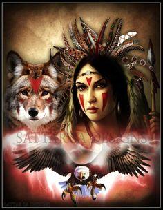 Micki Cherokee Angel Deppe Shared Satar Sa Photo