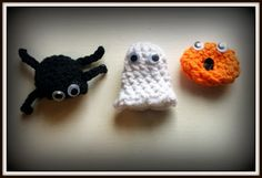 Double Treble Craft Adventures: Crochet Pumpkin Finger Puppets Pattern + Song