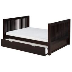 Viv + Rae Isabelle Full Platform Bed with Trundle Finish: Cappuccino