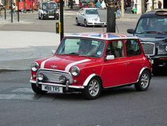 Classic Mini by Kenjobro Mini Cooper Classic, Classic Mini, Rover Mini Cooper, Mini Morris, Mclaren F1, Classy Cars, Car In The World, Future Car, Mini Me