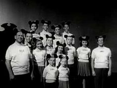 "The original ""Mickey Mouse Club"" aired from 1955-59."