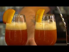 The Bellini Italian cocktail, excellent wine and fruit of the land #raiexpo #youritaly #veneto #italy #expo2015 #experience #visit #discover #culture #food #history #art #nature