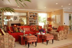 Living Rooms - Interior Design Photo Gallery - Timothy Corrigan