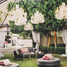 Party Time >> Cumpleaños con recepción al aire libre.  #eventplanners #event #party #birthday #decor #deco #ambientacion #livings #ubf