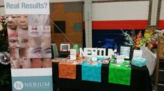 Craft Show/Vendor event. This is my Nerium booth.