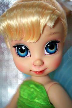 "OOAK Repaint 16"" Disney Baby Doll Tinker Bell by Ini | eBay"