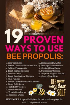 The humble but mighty honey bee is responsible for maintaining a great many different ecosystems on the planet. In addition, the products it creates supports the human condition. One of these is bee propolis, a lesser-known product that's great for treating a sore throat, cold sores, and more...