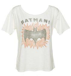 Ladies Batman! Slouch T-Shirt