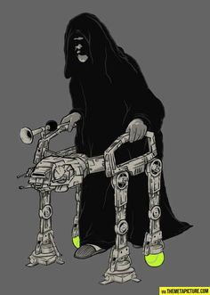 Imperial Walker…LOL... I'm dying here!