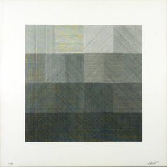 Sol LeWitt - Untitled, 1971. Lithograph on paper