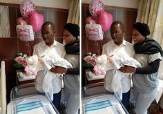 Photo: Delta State Governor Clocks 58 Becomes Grand Dad Same Day