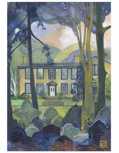 The Brontë Parsonage, by Kate Lycett: Large Journal | Bronte Parsonage Museum