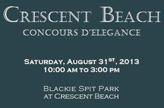 Crescent Beach Concours d'elegance  Aug 31, 2013