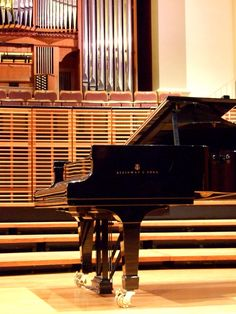 Steinway and an organ in my haus