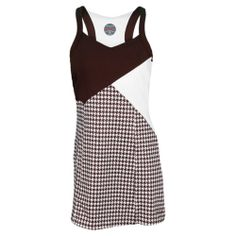 Bolle Kahlua Tennis Dress Houndstooth and Cocoa  LOVE.  LOVE. LOVE!