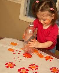 Resultat d'imatges de reciclant ampolles decoracio nadal