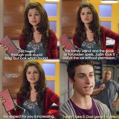 Wizards of Waverly Place: The Movie Disney Memes, Disney Quotes, Disney And Dreamworks, Disney Pixar, Tv Quotes, Funny Quotes, Old Disney Shows, Old Disney Channel, Childhood Tv Shows