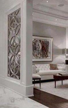 Hall entrada - Best Home Idea Living Room Chairs, Living Room Partition, Oak Furniture Living Room, Home Interior Design, House Interior Decor, Living Room Decor, Home Living Room, Home, Room Interior