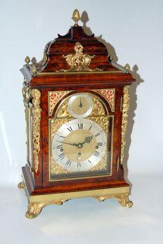 Ellicott bracket clock