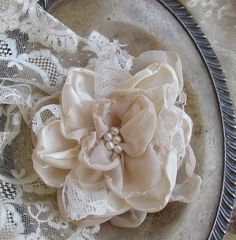 Fabric Flowers Ideas