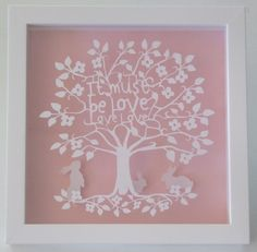 It Must Be Love, Love, Love by Almond Tree Designs #typography