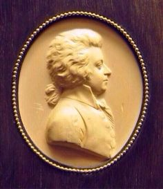 From 1788/89, most scholars agree that this work by Leonard Posch is probably the best likeness of Mozart we have... via The Mozart Project