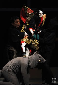 Japanese traditional puppet theater, Bunraku