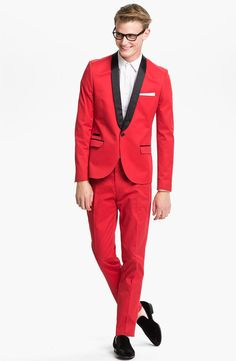Topman Tuxedo Jacket, Dress Shirt & Trousers #Nordstrom #Men