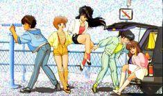 Kimagure orange road! un anime davevro spensierato dove amore e super poteri si incontrano :-)