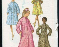 década de 1950 robe & Brunch capa patrón por BessieAndMaive en Etsy