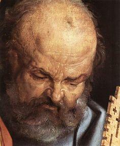 Acheter Tableau 'saint pierre' de Albrecht Durer - Achat d'une reproduction sur toile peinte à la main , Reproduction peinture, copie de tableau, reproduction d'oeuvres d'art sur toile