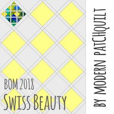 "Block of the month 2018 ""Swiss Beauty"" der Gruppe Modern PatCHquilt ist gestartet. The Block of the month 2018 from the group Modern PatCHquilt Switzerland just started. Das Programm und die Anleitungen sind auf Deutsch und Französisch. Also hab Spass beim nähen und teile dein Resultat mit uns: #modernpatCHquilt All the descriptions are in german and french. The finished quilt will have the size of a single bed. Use hashtag #modernpatchquilt and #swissbeautybom to show your results."